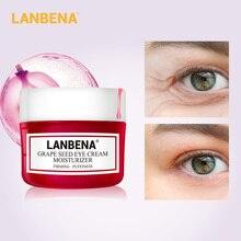LANBENA Grape Seed Eye Cream Fading Fine Lines Dark Circle Removing Eye Puffiness Nourishing Moisturizing Firming Anti-Aging