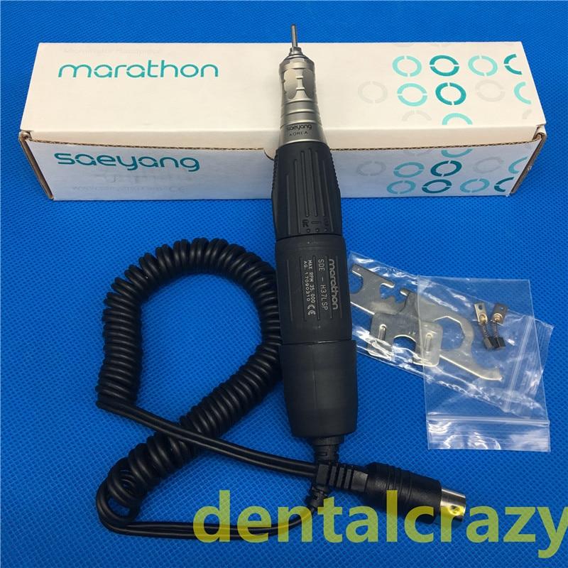 Dental Micromotor 35K RPM SDE H37LSP Dental Marathon Lab Electric Micromotor Motor Handpiece for Polishing