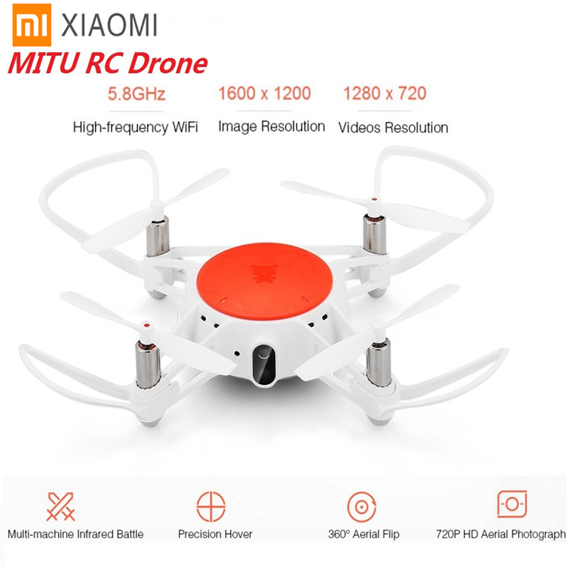 Xiaomi MITU WIFI FPV 360 Tumbling Drone rc avec 720 P HD Caméra Multi-machine de Combat Infrarouge Caméra Drone- BNF Version