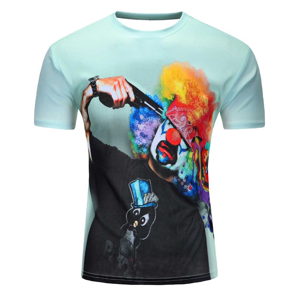 Hot selling New fashion Men 39 s 3D apple tree printing t shirt summer short sleeve t shirts tops M 4XL plus size free shipping in T Shirts from Men 39 s Clothing