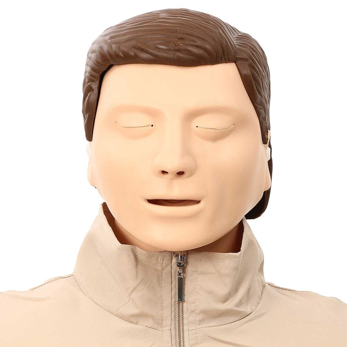 Mannequin de formation en rcr 70x22x34 cm buste Mannequin de formation en soins infirmiers professionnels modèle médical modèle de formation en premiers soins humains nouveau - 5