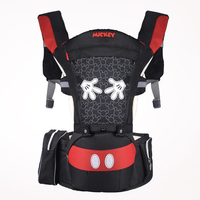Disney Summer Breathable Ergonomic Backpack Portable Infant