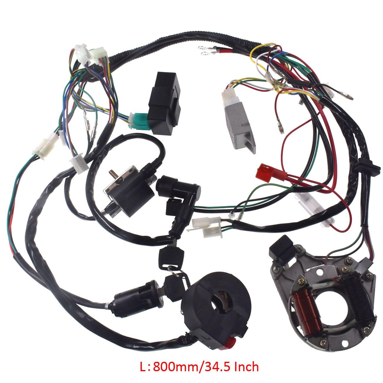 Kit de câblage d'assemblage de faisceau de câbles CDI pour Quad électrique ATV 50 70 90 110 125cc