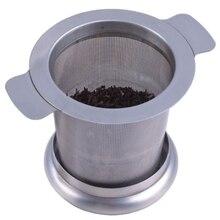 А++ ситечко для чая, фильтр для воды из нержавеющей стали с двойными ручками для подвешивания чайных горшков, кружек