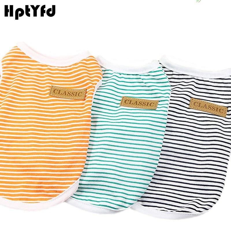 Classic Plaid Pet Vest Oblečení pro malé střední pes Cat bavlněné měkké tričko Chihuahua Teddy Customes Chovatelské potřeby (4 barvy)  t