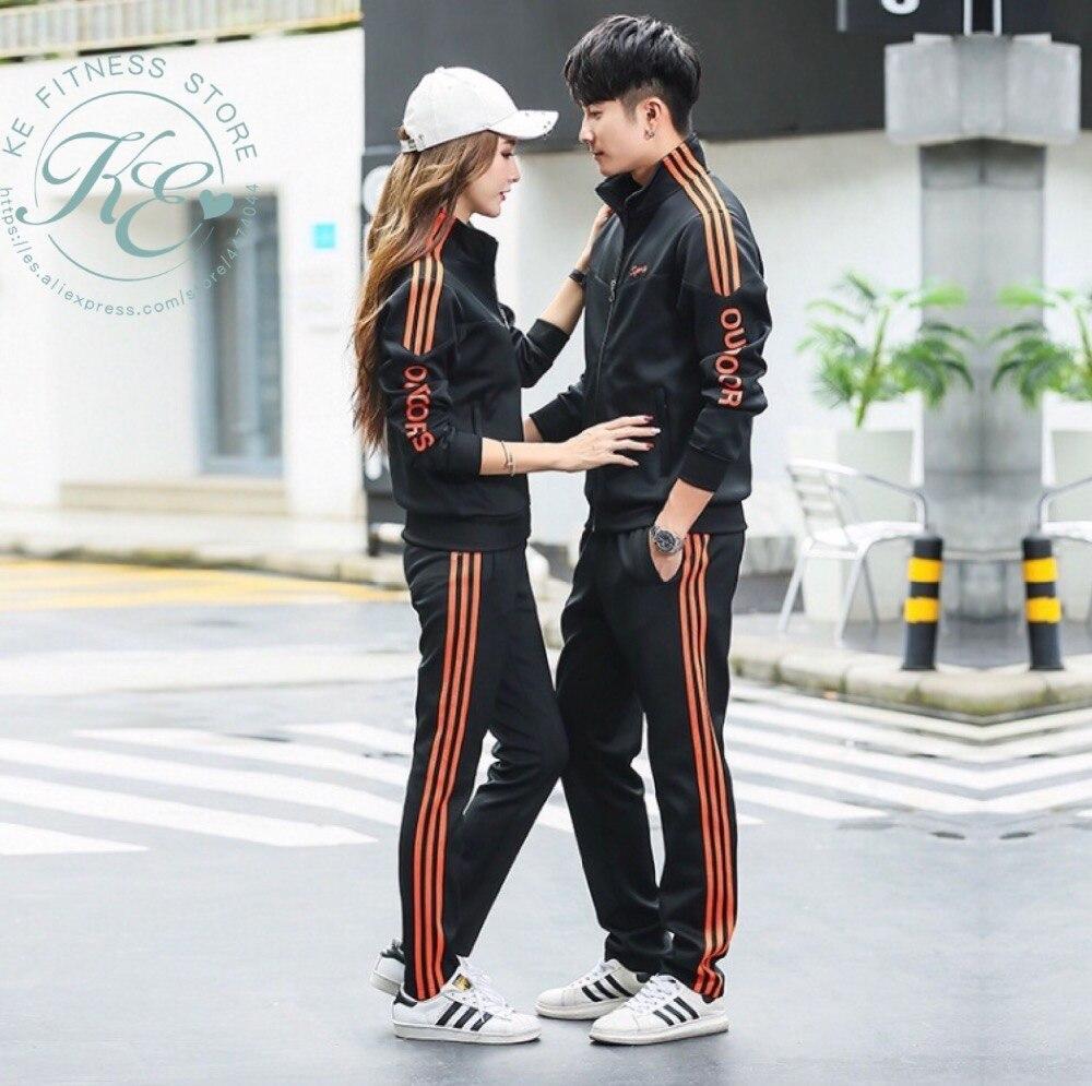 Chandal de hombre sports wear for women gym men's sportswear sports set unisex men's sportswear winter suit for women sports top 1