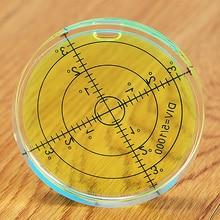 60*12 мм круглый пузырь Уровень Дух Уровень круглый пузырьковый уровень Универсальный Protractorm