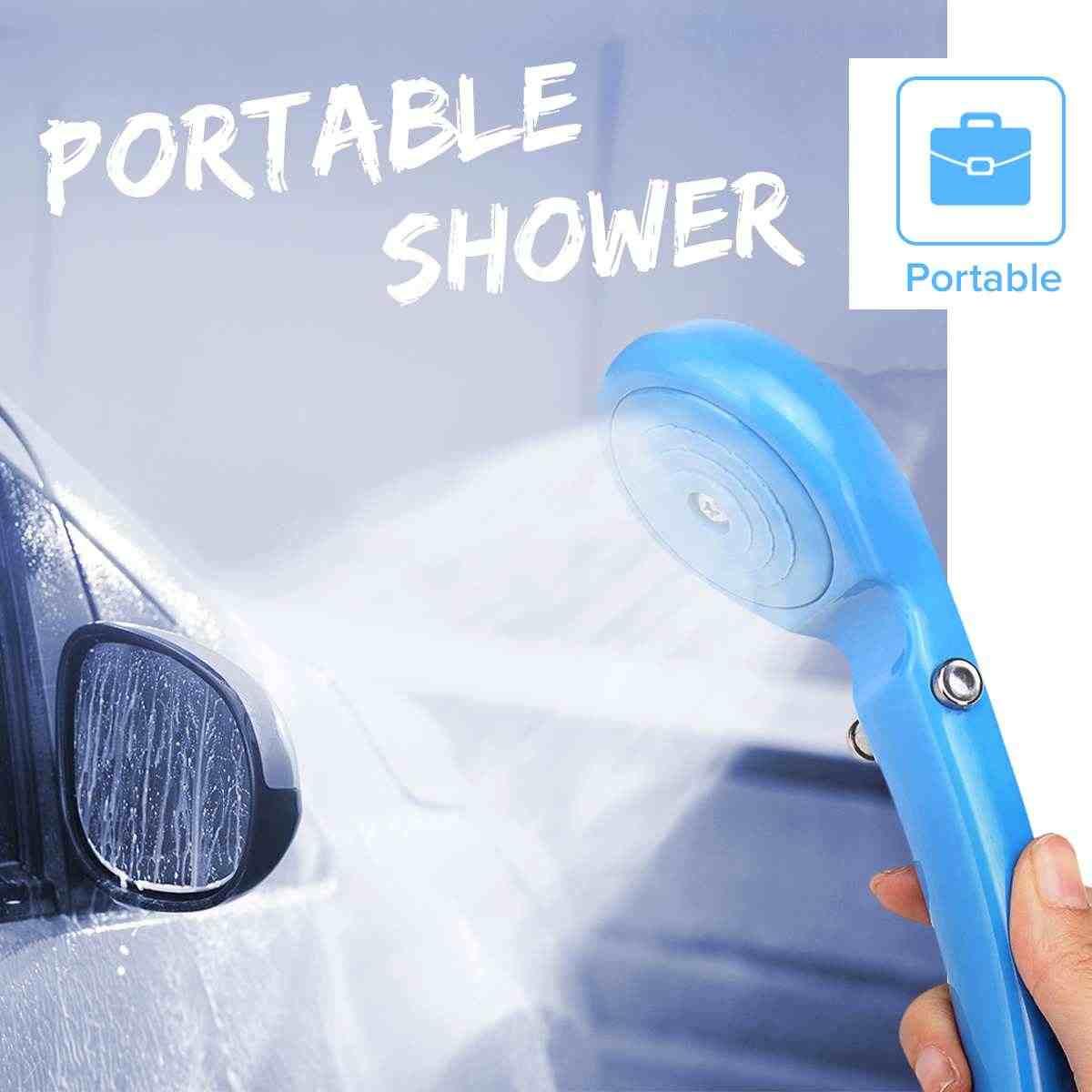 Camping & Hiking Alert Camping Shower Portable Shower Set Usb Car Shower Dc 12v Pump Pressure Shower Outdoor Camp Ducha Camping Pet Car Washer Campcookingsupplies
