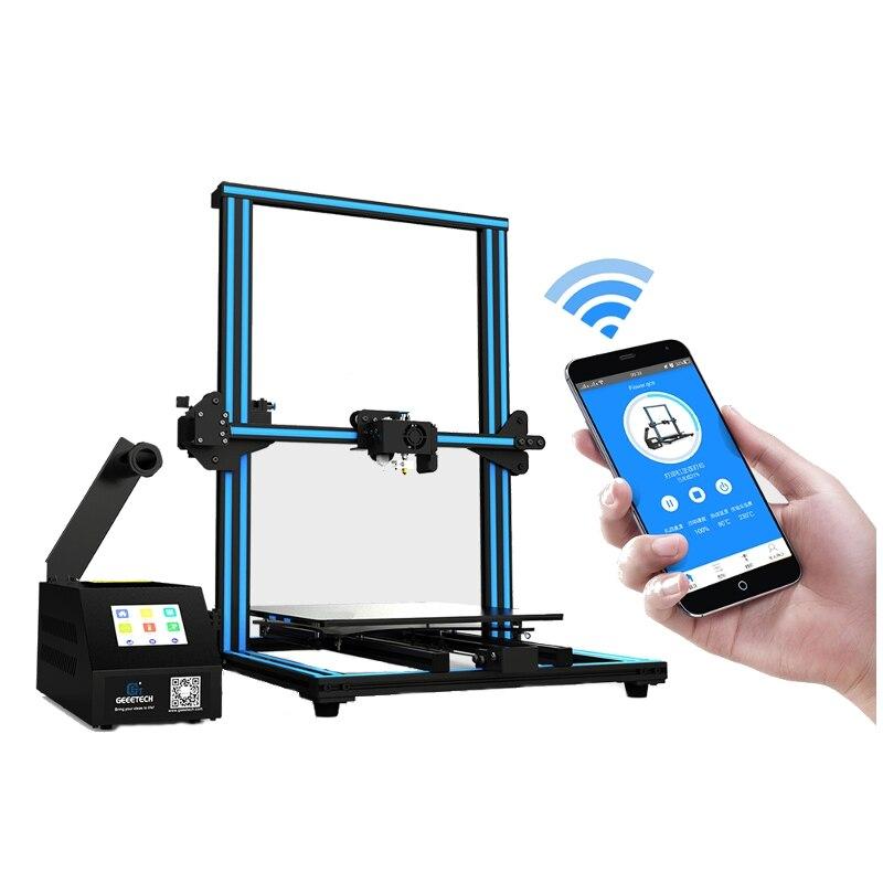 GEEETECH A30 bricolage imprimante 3D avec grande zone d'imprimante coloré écran tactile pause-reprise Auto-nivellement WiFi activé imprimante 3D