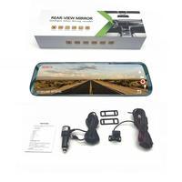 Car 360 Streaming Media Rearview Mirror Driving Recorder 1080 Car dvr Hd Reversing Image
