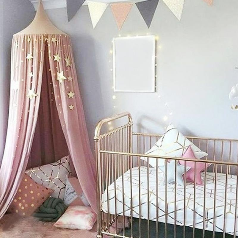 Forceful Stars Hanging Decoration Garland Banner Sparkling Star Garland Bunting For Weddings Or Parties Children's Rooms Mosquito Nets Distinctive For Its Traditional Properties