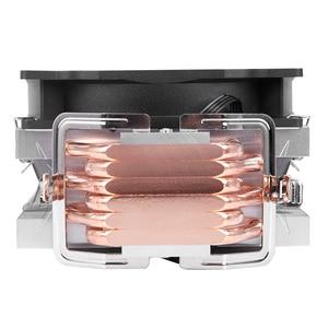 Image 5 - SNOWMAN 4 PIN CPU cooler 6 heatpipe Single/Double fan cooling 12 cm fan LGA775 1151 115x 1366 support Intel AMD