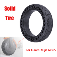 Durable Wheels 1 pcs / 2 pcs Anti Explosion Solid Rubber Tyre Front Rear Tire For Xiaomi Mijia M365 Electric Scooter Skateboard