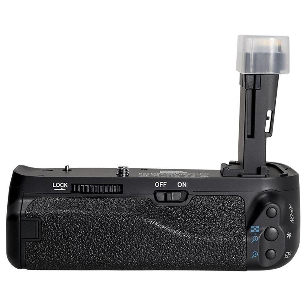 Batterie Grip Pour Canon Eos 6D Mark Ii, Batterie Professionnelle Vertical Holder Grip Pour Canon Caméra
