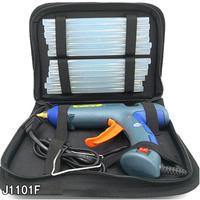 Hot Melt Glue Gun Kit 100 Watts with 12 Glue Sticks Bag for DIY Craft Mini Guns Thermo Electric Heat Temperature Tool