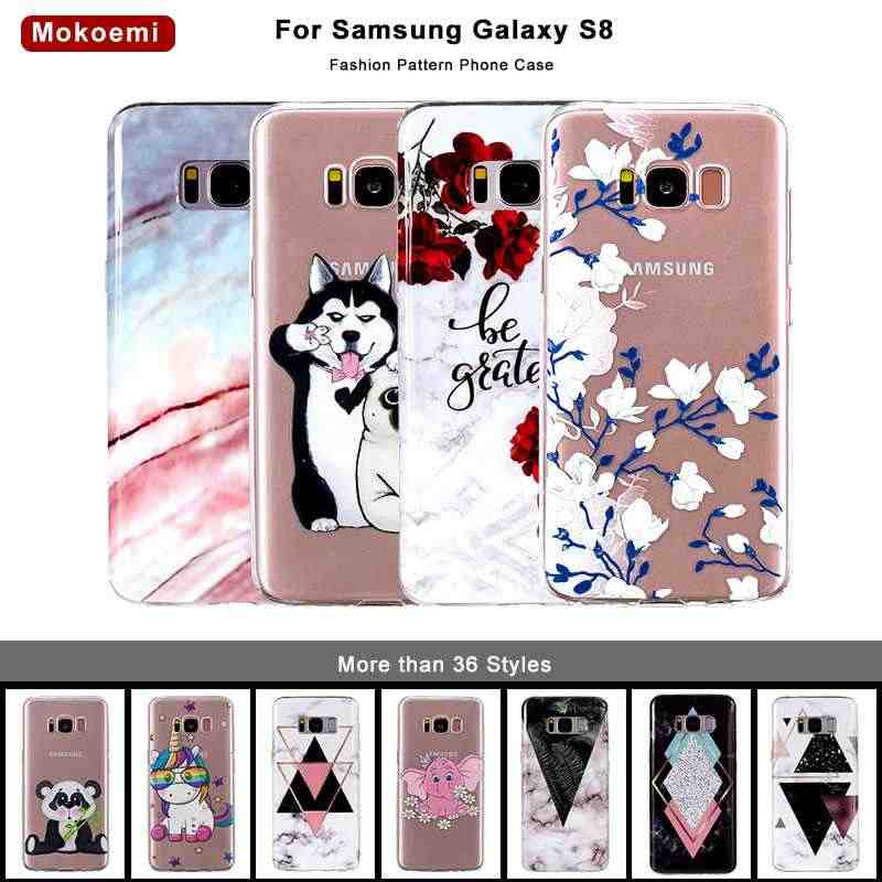 "Mokoemi Fashion Cute Pattern Soft 5.8""For Samsung Galaxy S8 Case For Samsung Galaxy S8 Plus Cell Phone Case Cover"