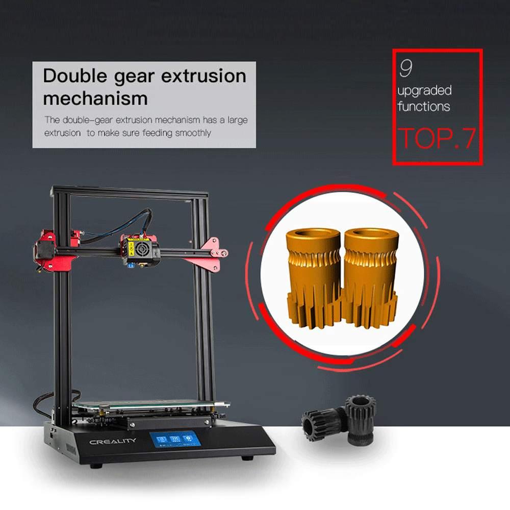 CR-10S Pro 3D Imprimante Kit 300*300*400mm Taille D'impression Coloré LCD Reprendre Impression Filament DIY 3D imprimante - 4