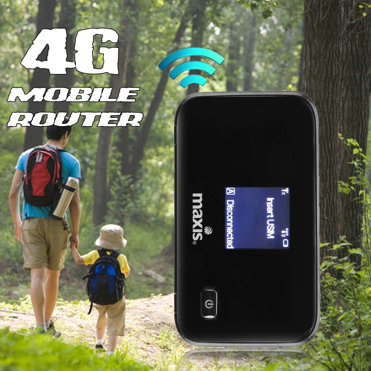 4g/3g Lte Fdd Wifi B1/b3 Wireless Mobile Hotspot Router Modem 150 Mbps Entsperrt- Networking