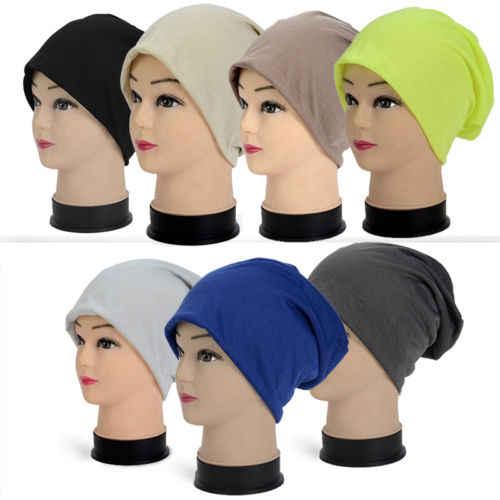 جديد أزياء عارضة للجنسين النساء الرجال حك الشتاء الدافئة تزلج الكروشيه ترهل الهيب هوب قبعة كاب قبعة المعتاد الرمادي الأزرق البيج