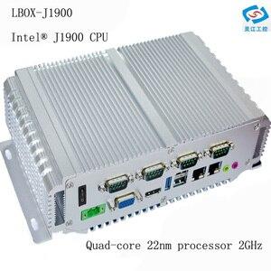 Image 1 - Procesor intel celeron n2930 bez wentylatora pulpit mini pc dla edukacji/Call center/inteligentne spotkanie windows10 komputer przemysłowy