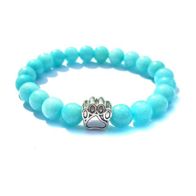 Pierre De Soleil Bleu Bracelet