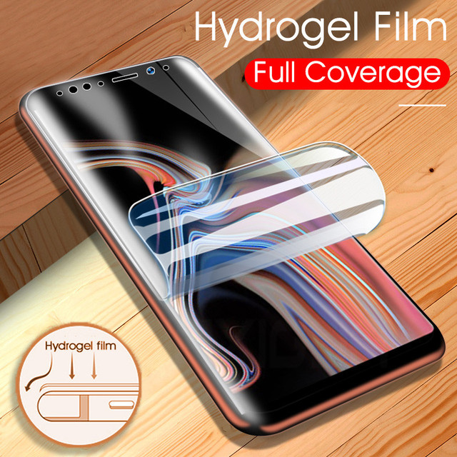 Full Cover Soft Hydrogel Film For Samsung Galaxy Note 8 9 S8 S9 Screen Protector For Samsung S9 S8 Plus S7 S6 Edge (Not Glass)