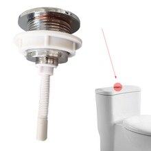 Крышка, одинарный пресс, универсальное монтажное отверстие, кнопочный переключатель, винтажный круглый унитаз, водосберегающая кнопка для туалета, ванной комнаты, стержень клапана