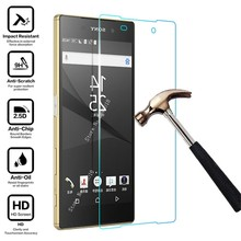 Protective Glass On For Sony Xperia 10 Xz1 Xa Xa1 Xa2 Ultra Compact  L1 L2 L3 Tempered Glas Screen Protector Protection Cover цена