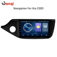 9inch full touch Android 8.1 Car DVD Player GPS Navigation Multimedia for Kia Ceed 2013 2014 2015 Auto Radio Audio Video Stereo