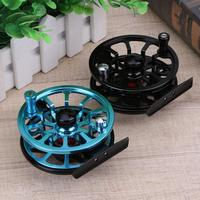 2 Colors 85mm Machined Aluminium Fly Fishing Reel Micro Adjusting Drag