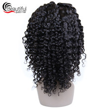 Beautiful Queen 10A Brazilian Hair Wig Deep Wave Full Lace Wig Passion Twist Glueless Wigs 12-24 Inch Virgin Hair With Baby Hair(China)