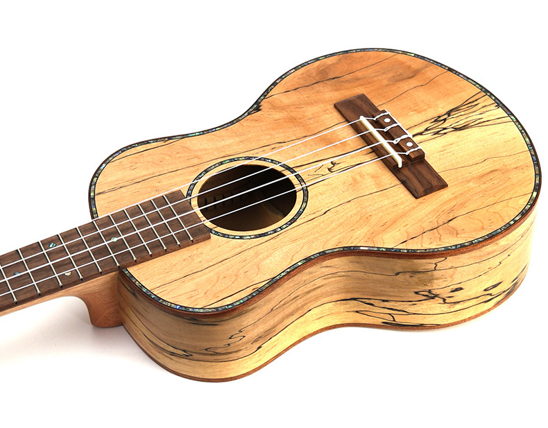 Ukulélé 23 pouces acoustique électrique Concert ténor Deadwood Mini guitare 4 cordes Ukelele Guitarra Uke Pick Up - 5