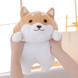 Baby And Adult Chubby Corgi PP Cotton Plush Doll Toy Soft Elastic Home Pillow Fat Fart Doll Short Plush Pillow Cushion