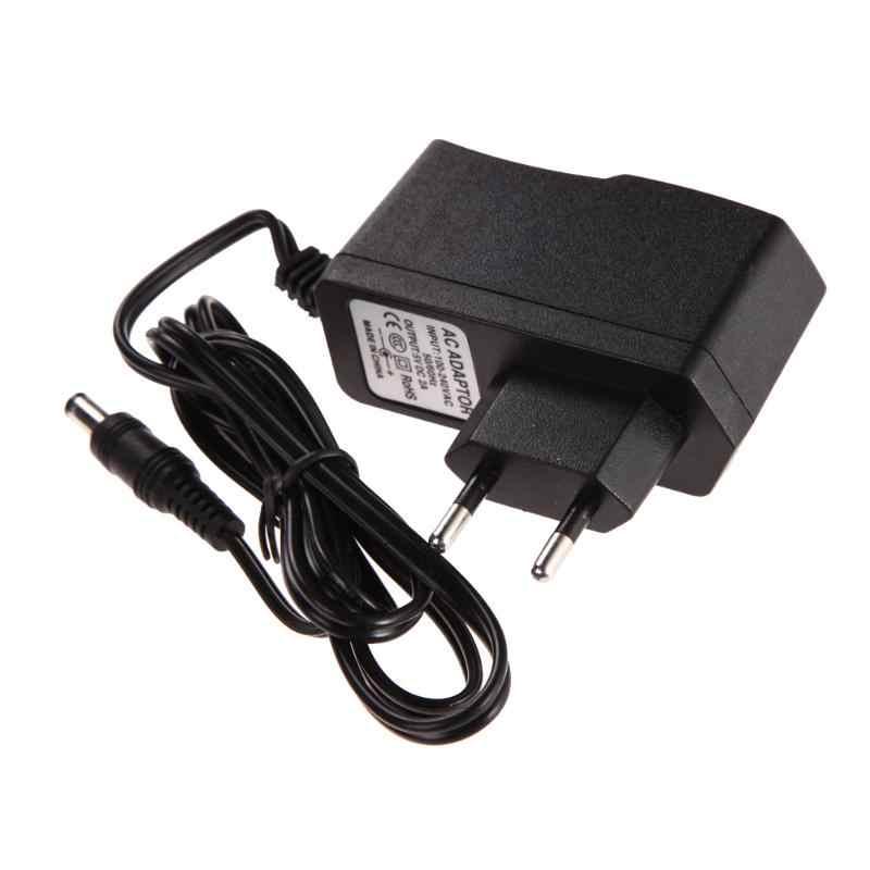 Adapter Chuyển Đổi AC 100-240 Bộ Sạc DC 5.5mm x 2.5 MM 5 V 2A 2000mA Sạc CHÂU ÂU phích cắm Chuyển Đổi Nguồn điện Bán Giá Sỉ