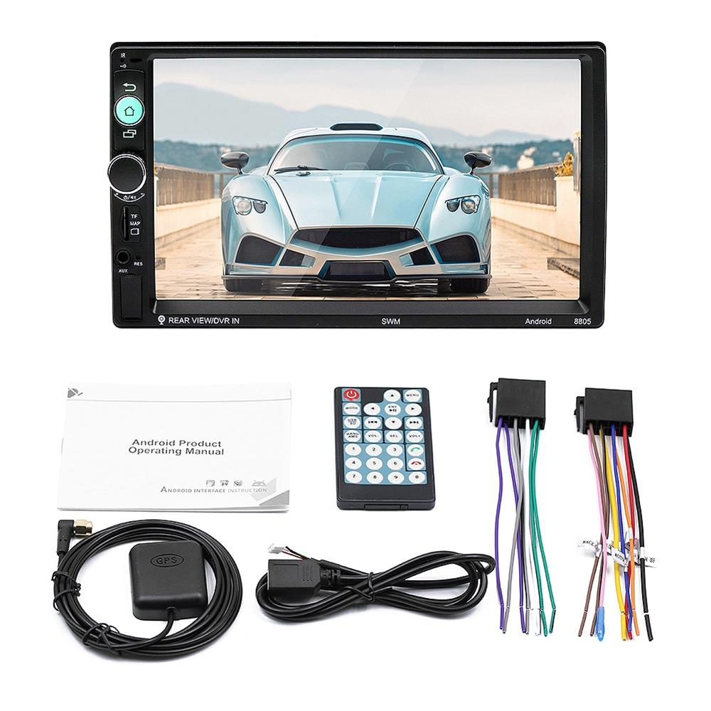 7-Inch Android Capacitive Screen MP5 Player Car Bluetooth Radio GPS Navigator 88057-Inch Android Capacitive Screen MP5 Player Car Bluetooth Radio GPS Navigator 8805
