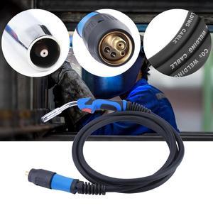 Image 5 - 4m MIG CO2 gaz korumalı kaynak meşale MB25AK ab standart bağlantı elemanı gaz Metal ark kaynak meşale esnek mono kablo