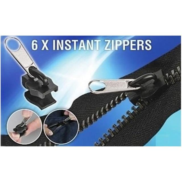 Kit de réparation avec fermeture éclair, universel instantané, remplacement, secours pour les dents, nouveau Design 6 pièces/sac