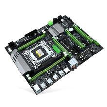 X79T DDR3 PC Desktops Motherboard LGA 2011 CPU Computer 4 Channel Gaming Support M.2 E5-2680V2 i7 SATA 3.0 USB 3.0 for Intel B75