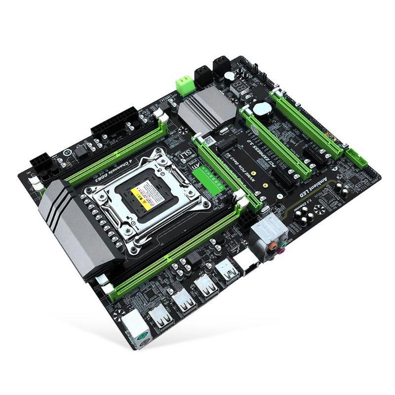 X79T DDR3 escritorios de PC placa base LGA 2011 CPU computadora 4 canal de apoyo M.2 E5-2680V2 i7 SATA USB 3,0 USB 3,0 intel B75