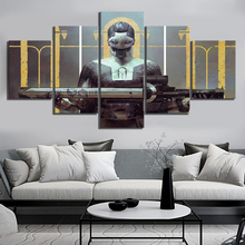 5 Panels Destiny 2 Forsaken Game Poster Fantasy Art Canvas Paintings for Home Decor