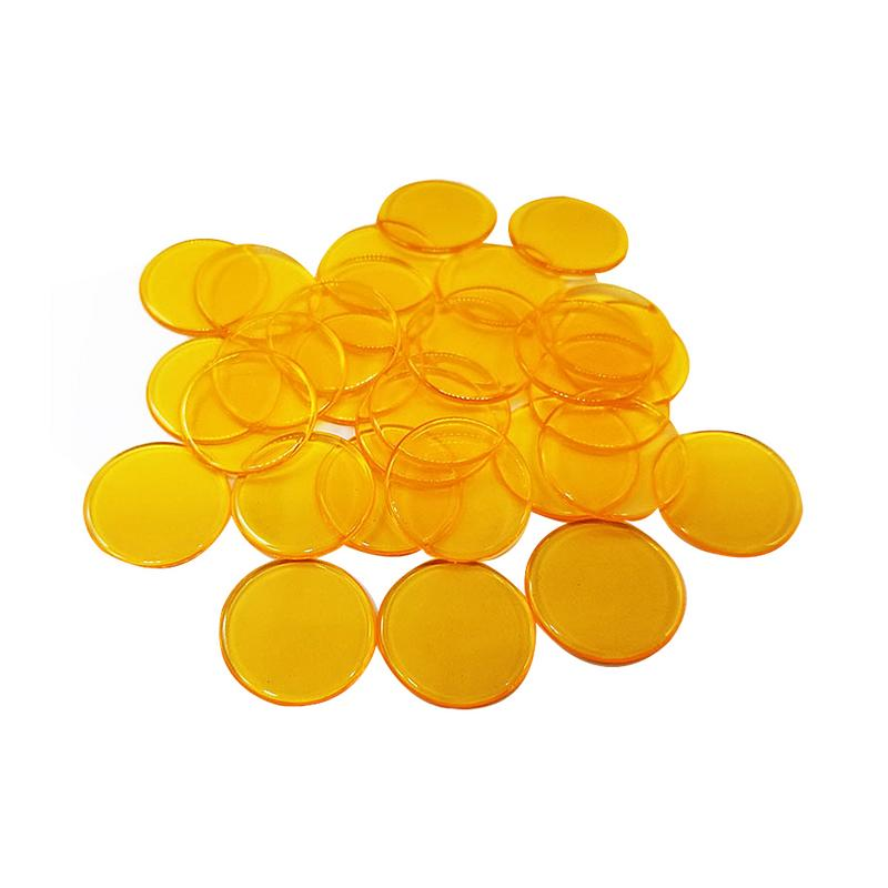 100pcs 100 Safe Creative Gift Accessories Plastic Poker Chips Casino Bingo Markers Token Fun Family Club Game Toy Portable in Poker Chips from Sports Entertainment