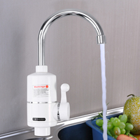 Instant Hot Water Tap Electric Water Faucet Hot Water Dispenser Kitchen Bathroom Faucet with EU Plug