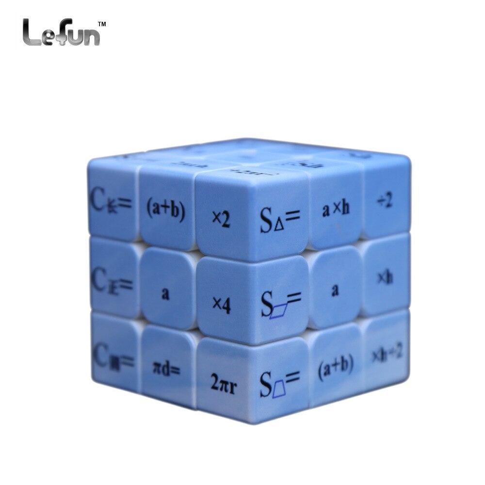 Le Fun 3 Steps Primary School Mathematics Formula Magic Cube Uv Gift Intelligent Development Cheats Study Pa Magic Cube Picture