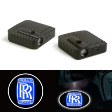 Car Laser Wireless sensor Door Logo Courtesy Shadow Light Lamp fit for rolls royce 12V