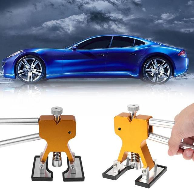 Car Paintless Dent Repair Dent Puller Kit Slide Hammer Glue Sticks Reverse Dent Removal Hammer Glue Tabs for Hail Damage
