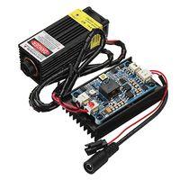 450nm 5 Вт лазерная гравировка машины Модуль синий свет с ttl модуляции для древесины лазерный станок с ЧПУ