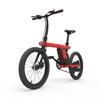 Daibot 전기 자전거 250w 2 륜 전기 자전거 20 인치 36V 최대 속도 25 KM/H 미니 타입 스마트 전기 자전거 좌석|전기 자전거|   -