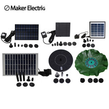 hot deal buy solar water pumps, garden pumps, fountain pumps, and other types of outdoor pumps, energy saving and environmental protection
