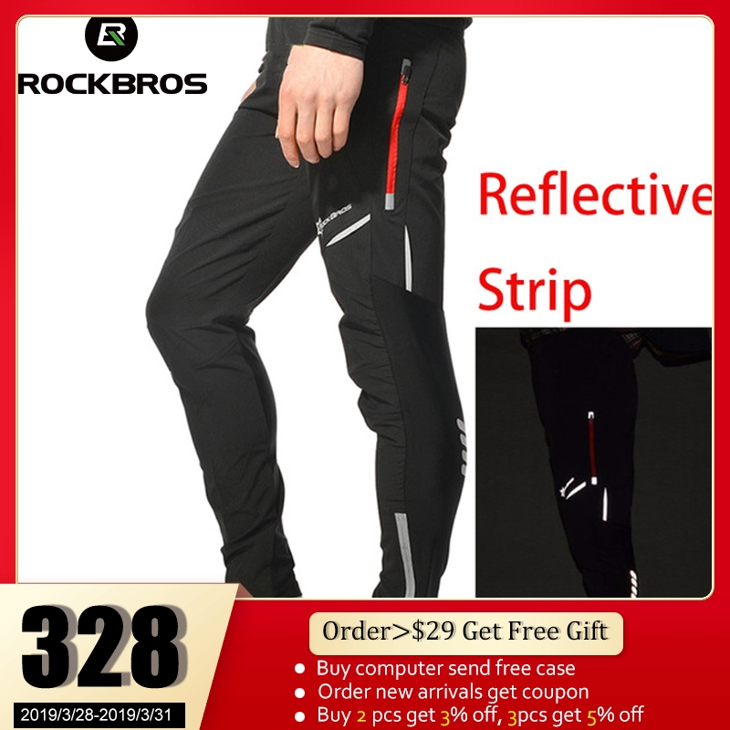0bfce66088fd7 ROCKBROS Cycling Bicycle Sports Pants Multifunction Sportswear Bike  Reflective Tights Cycling Pants Cycle Clothing Long Trousers