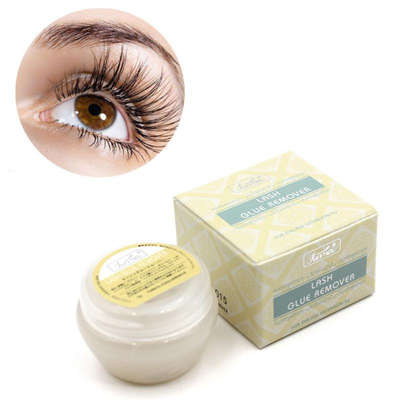 New Professional Fase Eyelash Glue Remover Eyelash Extensions Tool Cream 5g Made In Japan Fragrancy Smell Glue Remover 40